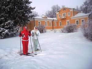 Лыжная прогулка по зимнему заповедному парку Болдинской усадьбы