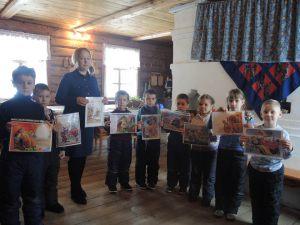 Клуб «Золотая рыбка» с подготовительной группой детского сада