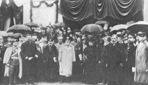 А. А. Пушкин в Святых Горах. 1899