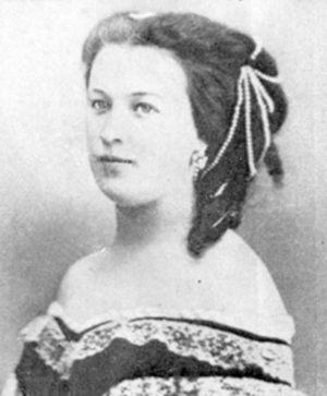 Наталья Александровна Меренберг, фото 1860-е годы