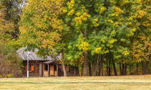 Болдинская осень. Усадьба А.С.Пушкина. Банька