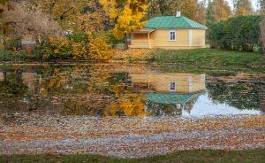 Болдинская осень. Усадьба Пушкина. Верхний пруд