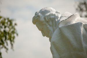 Усадьба А.С.Пушкина в Болдино. Памятник Пушкину